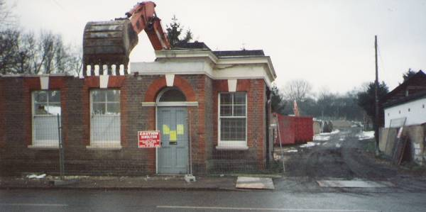 Demolition of Barclays Bank